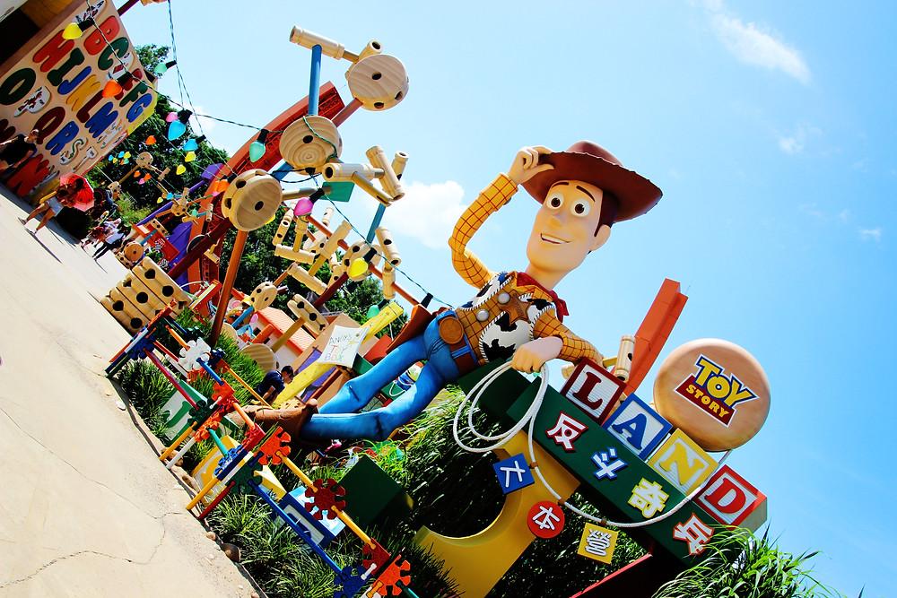 Toy Story Land, Hong Kong Disneyland, Hong Kong