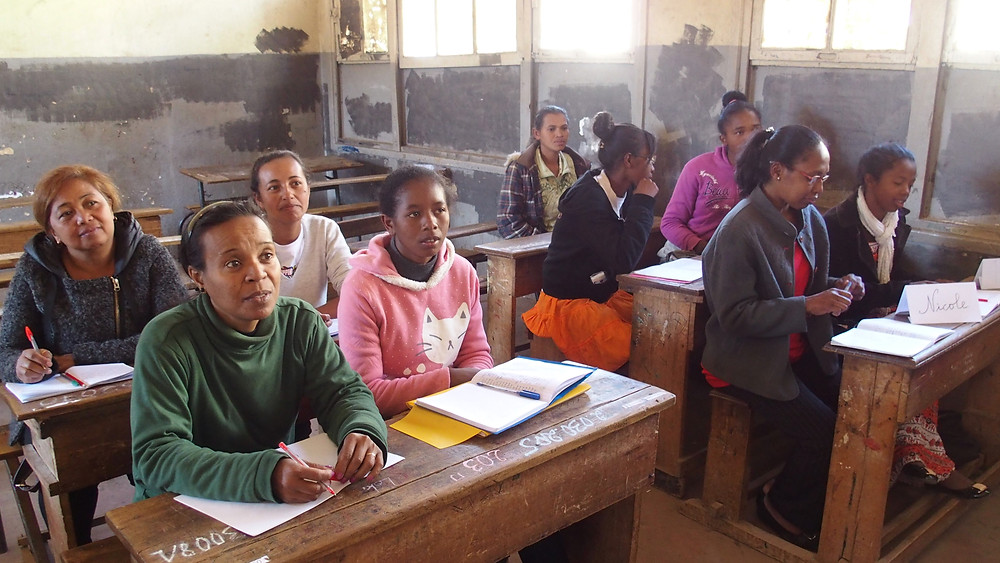 Formation pour les professeurs de l'école Règne à Madagascar