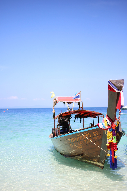 Longtail Boat at Phi Phi Island, Thailand