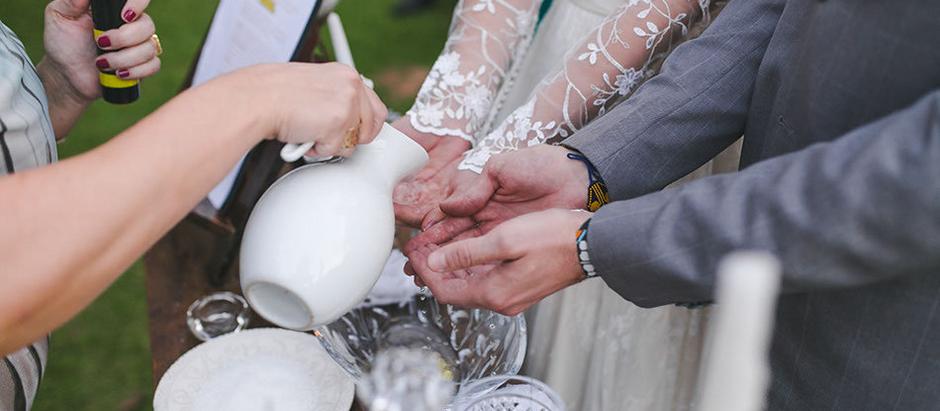 Inspiração do povo celta para o seu casamento: ritual da água e sal