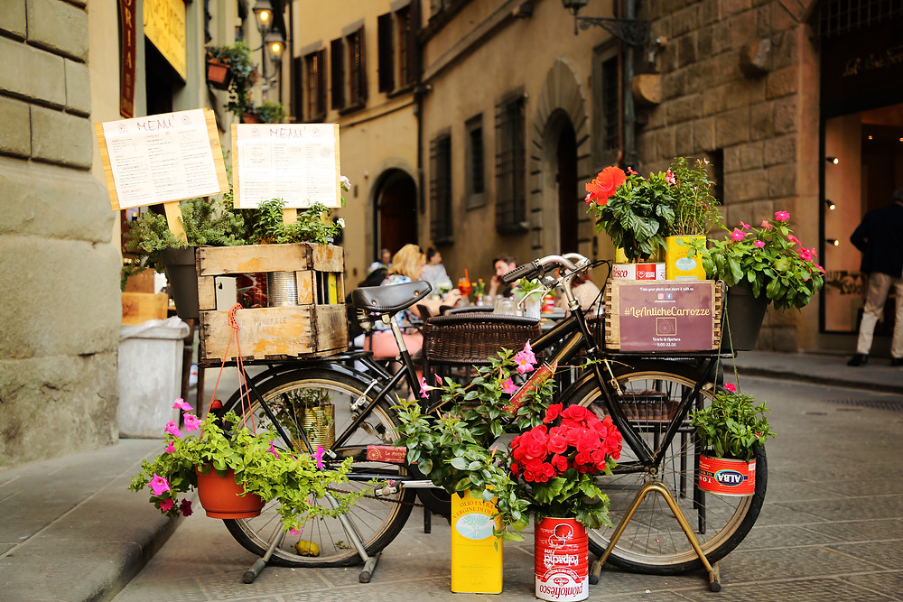 A bike in Florence, Italy