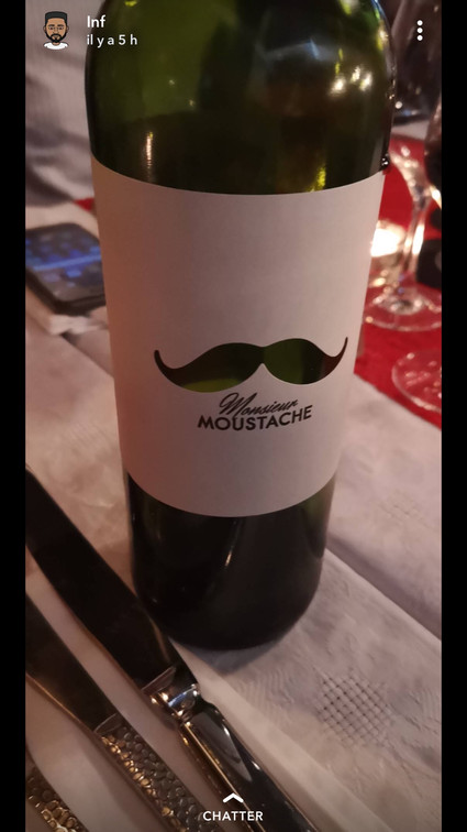 Monsieur Moustache, Bordeaux Rouge