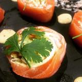Nos bulles de #saumon frais fumé au Sel