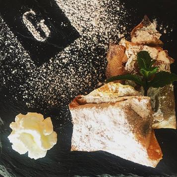 Les Nems de #banane fraîche et #caramel