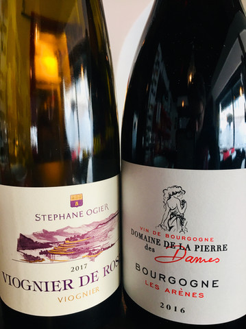 Viognier et Pinot Noir.JPG
