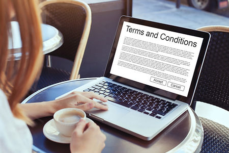iRoom terms and conditions