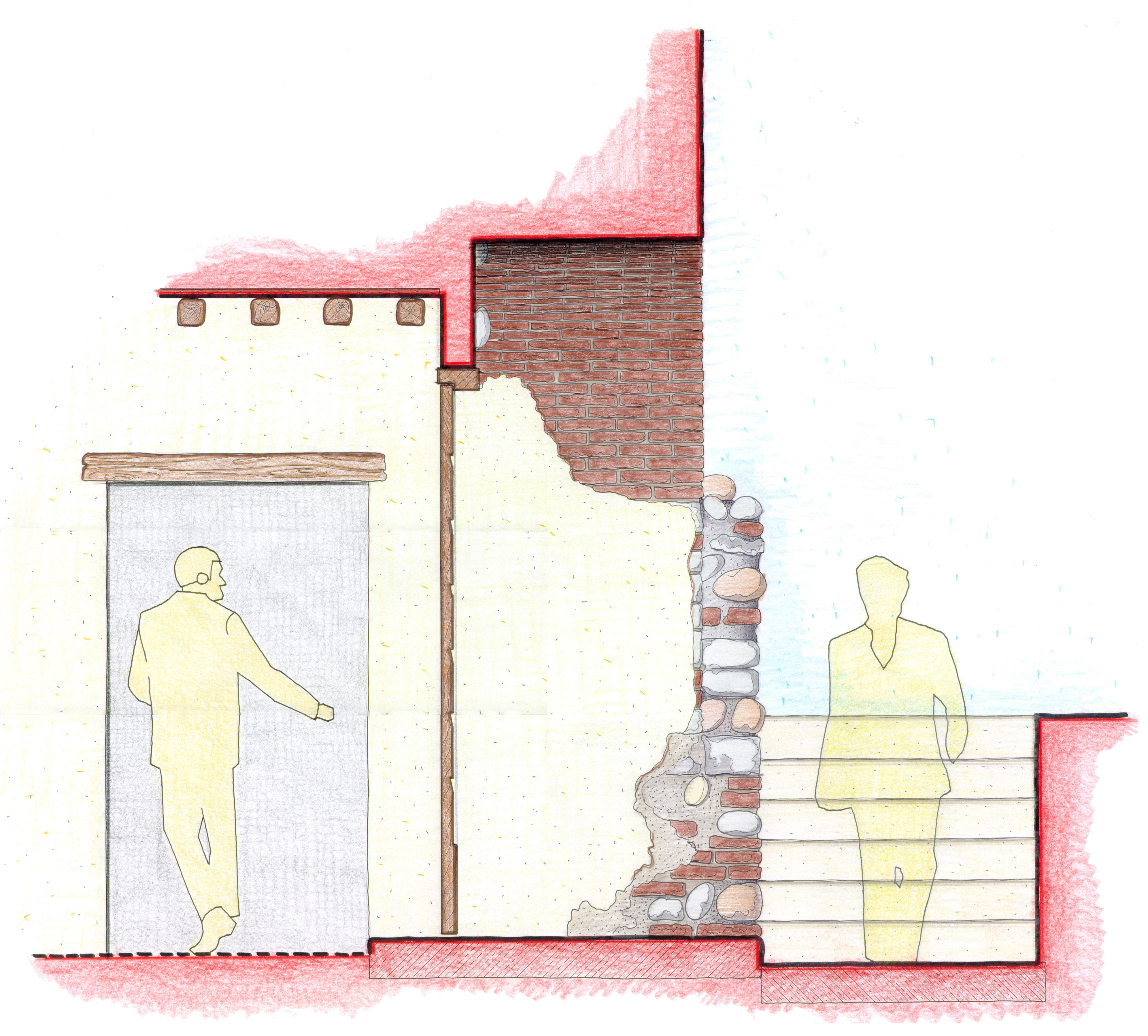 guardiola-porta su cortile-sezione.jpg