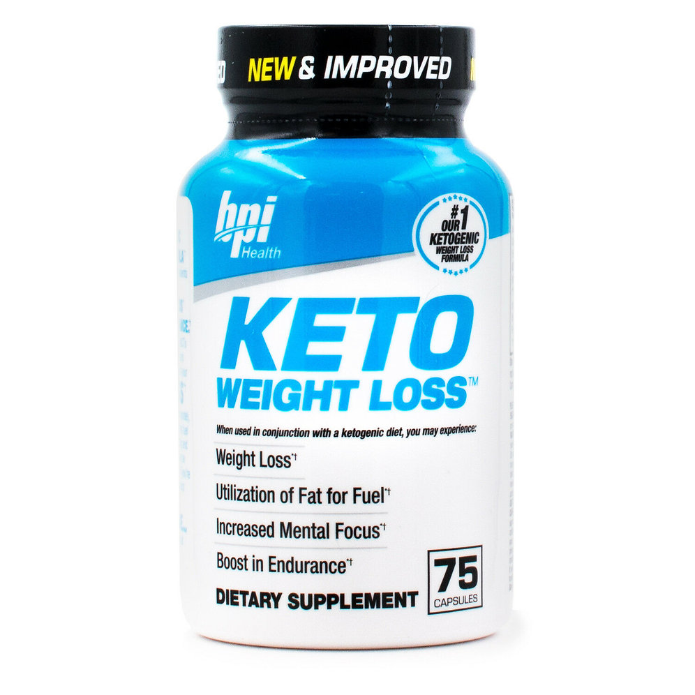 Bpi Sports Keto Weight Loss Ultimate Dietary Ketogenic Supplement 75 Capsules