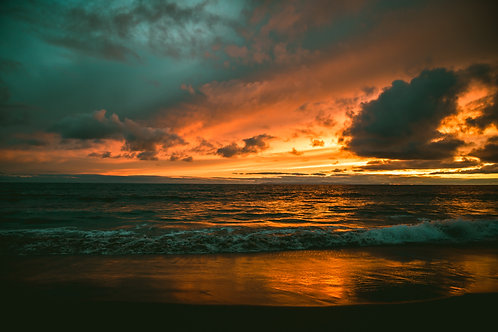 Colorful Malibu Sunset