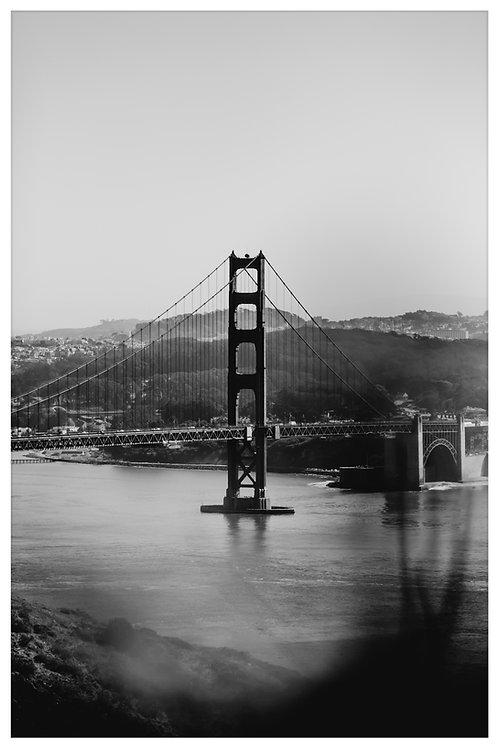 San Fran Black and White