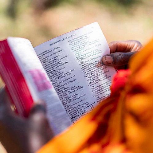 Bibel for Maasai
