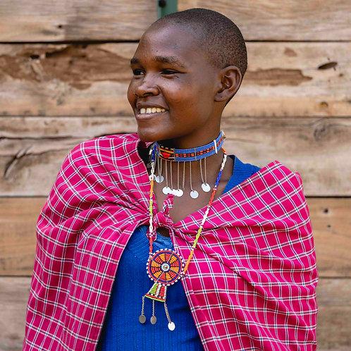 """Necklace """"Maasai"""""""