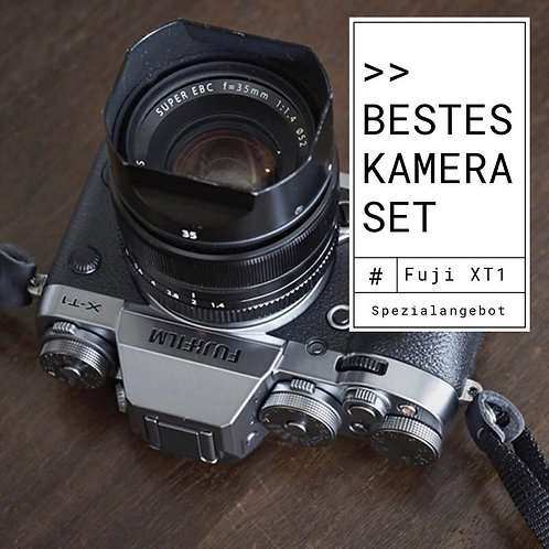 Fuji X T1 BESTES KAMERA SET Secondhand