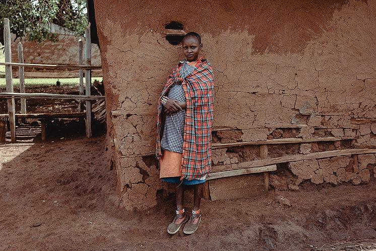 empower a Maasai Girl for a better tomorrow.