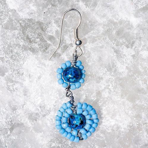 """Earring """"Blue"""""""