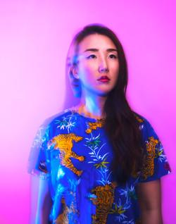 Portrait de Grace Kim, DJ.