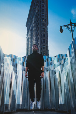 Shooting Alban Bartoli à New York