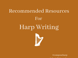 My favorite resources for Harp Writing and Notation