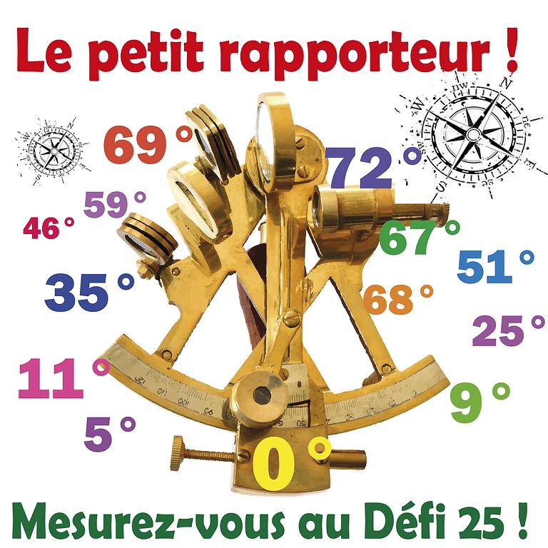 DEFI 25 : Le petit rapporteur