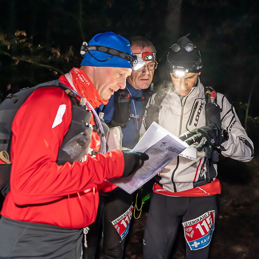 SemiRaid 28 : 45 km en équipe de 3, en orientation et en autonomie complète