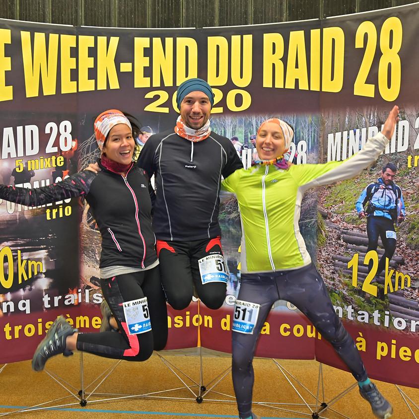 MiniRaid 28 : 12 km en équipe de 3, en orientation et en autonomie complète