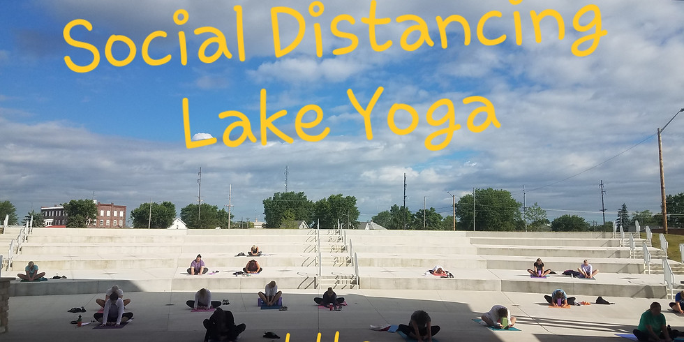 Lake Yoga at the Amphitheater