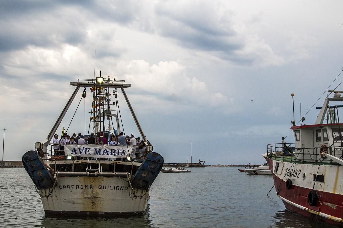 processione in mare