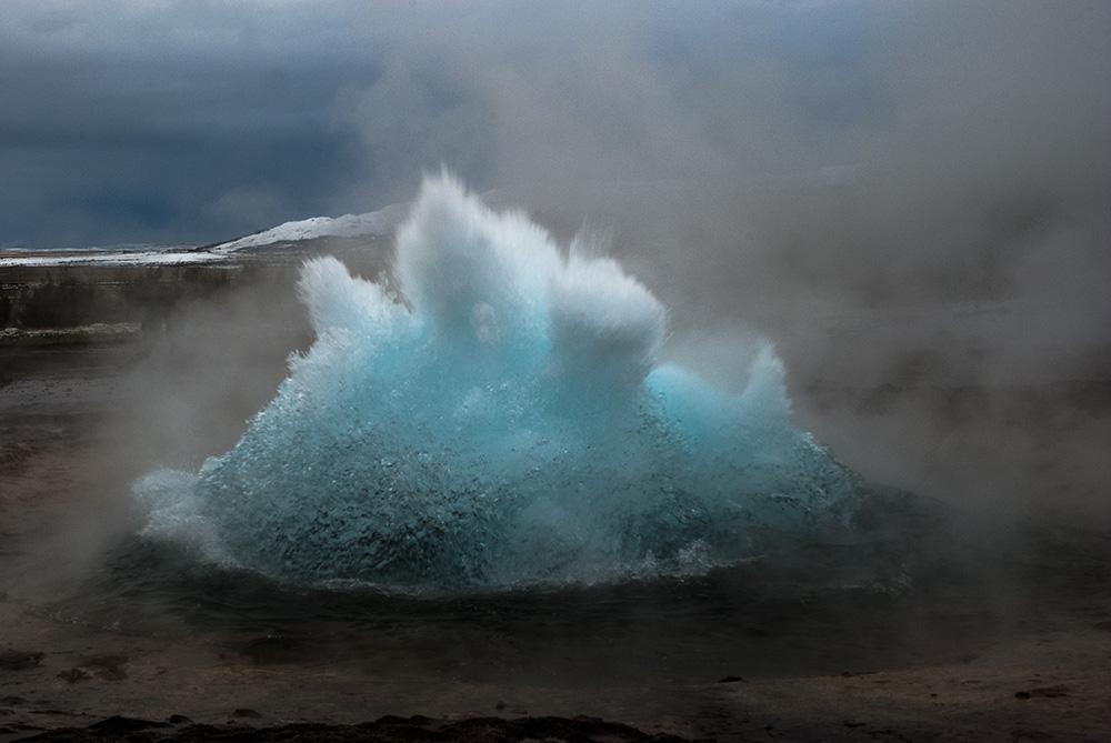 Islanda i geyser