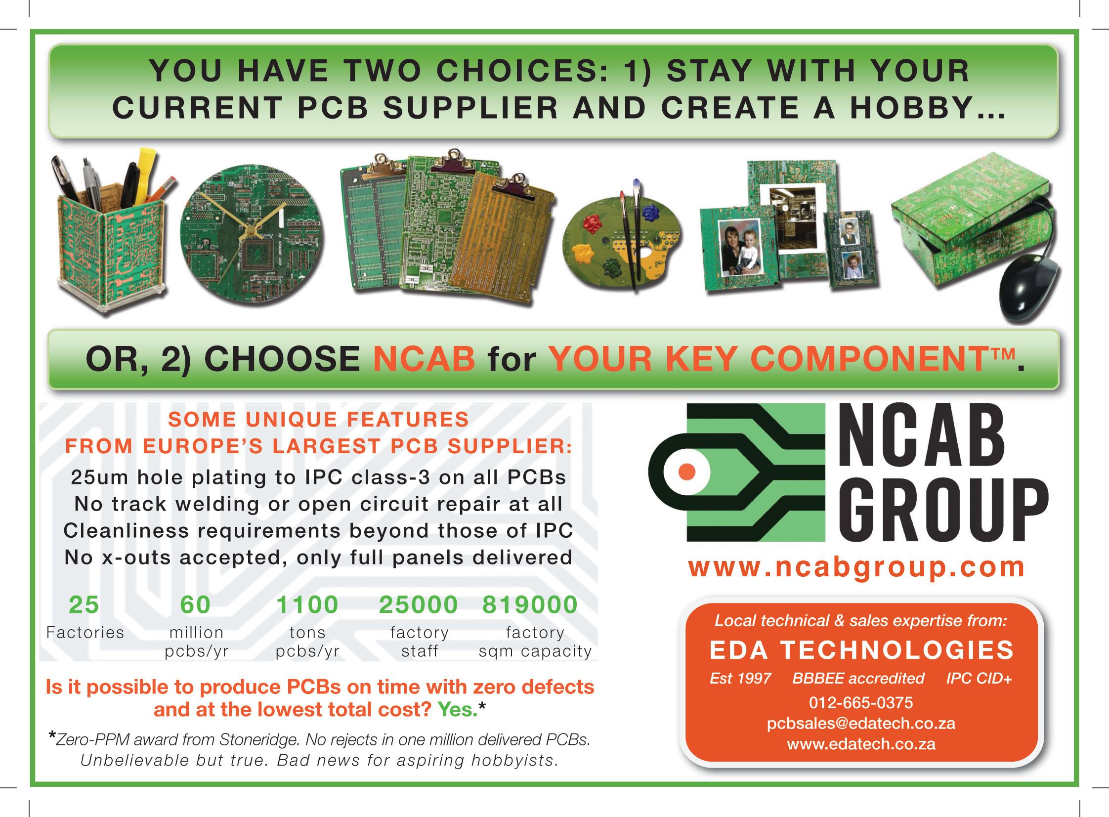 EBG 2013 PCB Manufacture ad_press