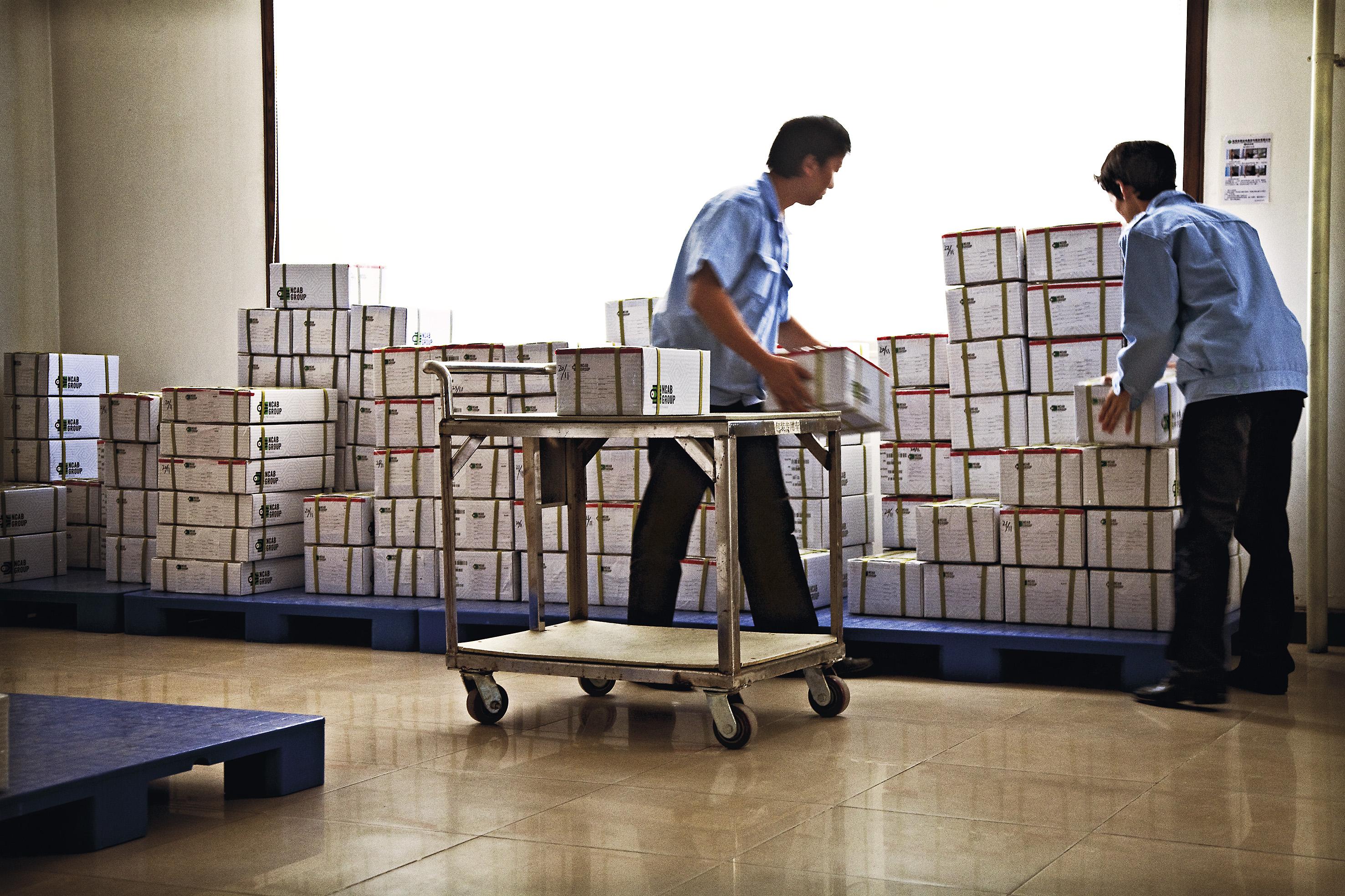NCAB shipping