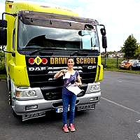 10hr Rigid truck lessons and hire for driving test