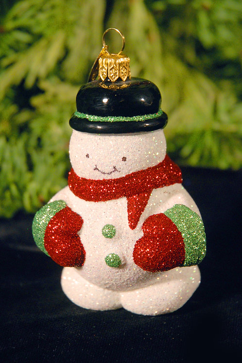 M84 Light Green and Red Snowman