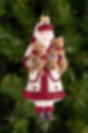 M303 White Santa and His Furry Friends.j