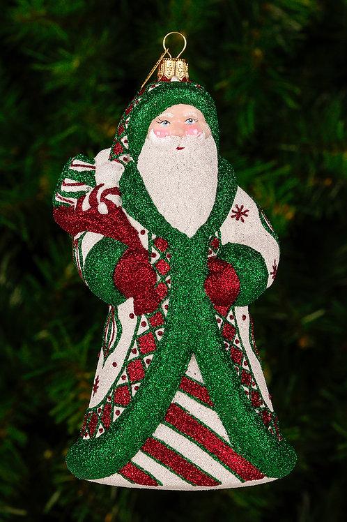 M294 Ornament Santa