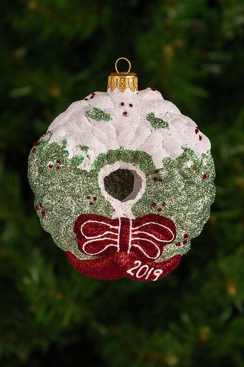 M165 Snowcapped Wreath