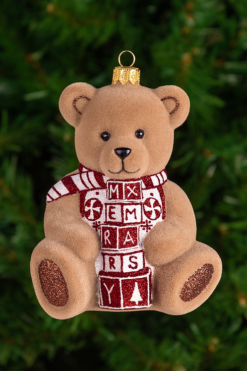 M292 Peppermint Merry Christmas Bear