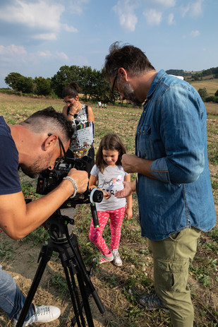 "Backstage Short Film ""Il Cavaliere di San Biase"""