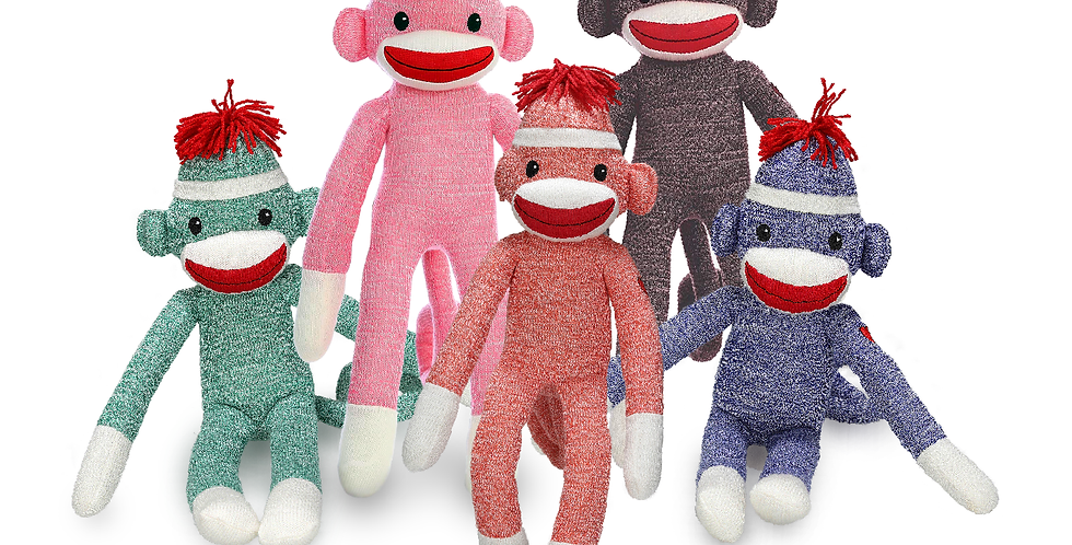 Colors of Love Sock Monkey