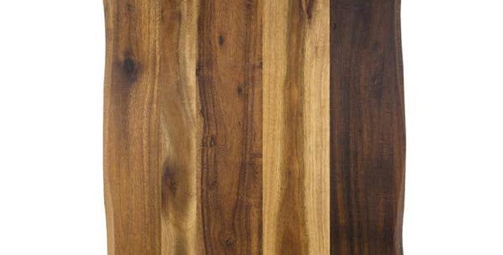 Acacia Cutting Board w/ non slip rubber feet