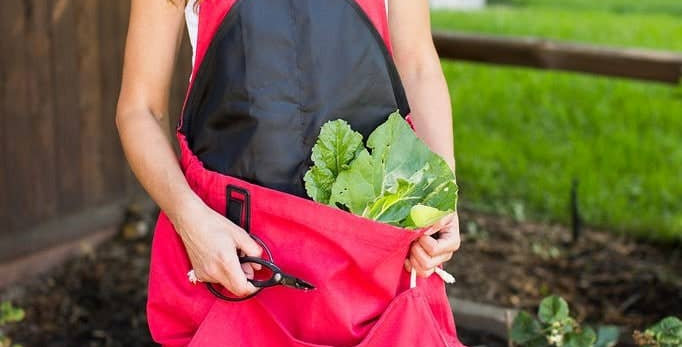 The Roo Gardening & Harvesting Apron