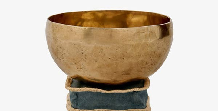 Tibetan Seven Metals Singing Bowl
