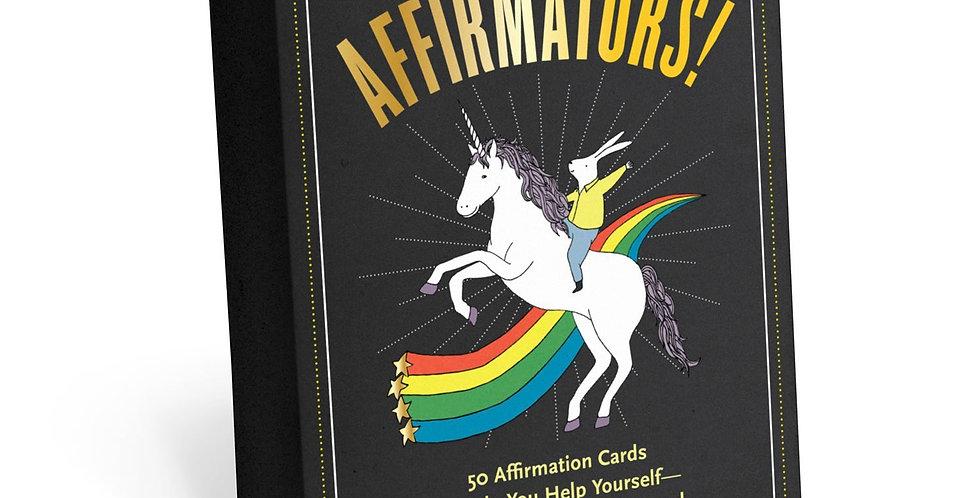 Affirmators!® 50 Affirmation Cards Deck