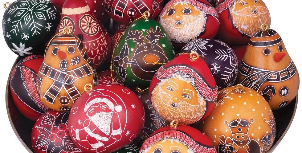 Mini Gourd Ornaments