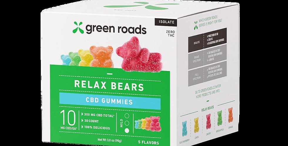 Green Roads Relax Bears Gummies
