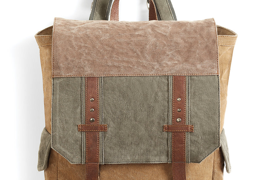 Recycled Military Tents Tote