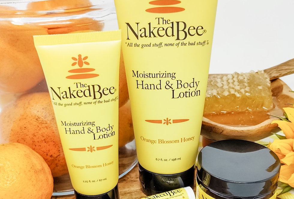 The Naked Bee/ Orange Blossom Honey