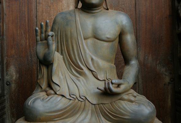 Large Teaching Buddha Statue