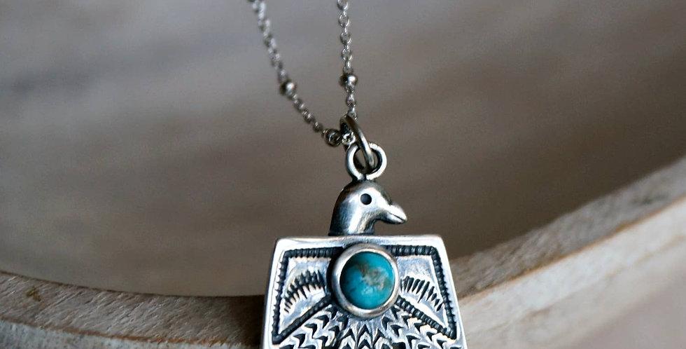 Thunderbird Turquoise Necklace