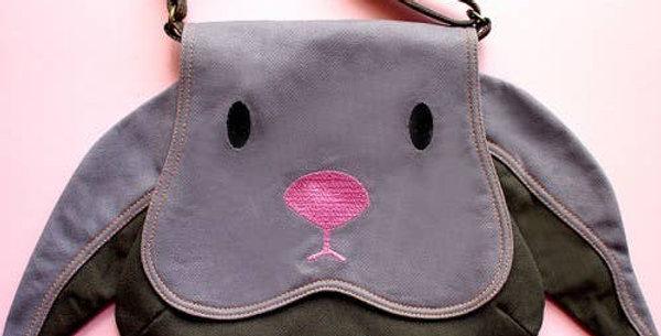 Floppy Eared Bunny Shoulder Bag