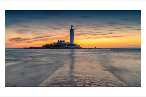 Approaching Dawn at St. Mary's Lighthouse